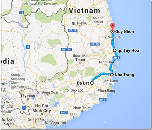 Day 195 Nha Trang Tuy Hoa and Qui Nhon unbelike